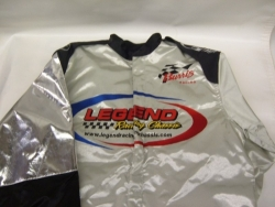Legend Silver Racing Jacket