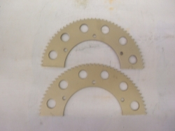 RLV Full Tooth Gold Sprockets 219 Chain
