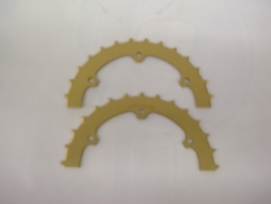 Performance Mfg. Inc. Skip Tooth Axle Sproket 35 Chain