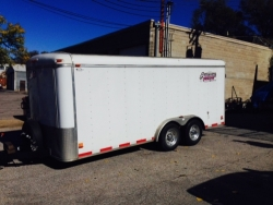 Shadow Master Enclosed Trailer 18x7