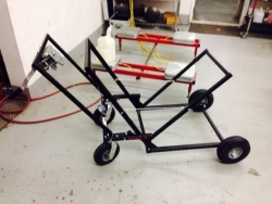 Black Widow Single Person Kart Stand